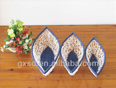 Handmade Handicrafts From Waste Materials - shangdi products white blue and craft for waste