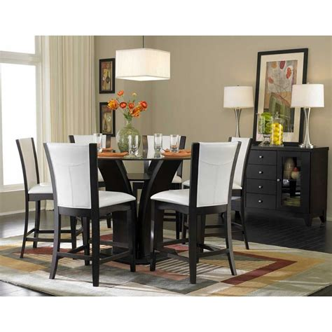 modern round dining room sets rs floral design the coaster round glass top dining table rs floral design