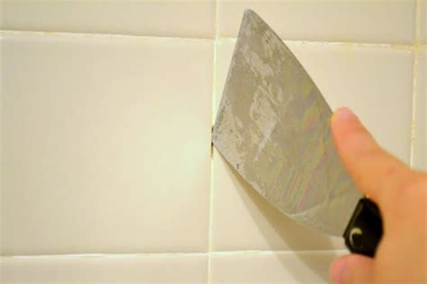 how to remove silicone from bathroom tiles re caulking your shower part ii ugly duckling house