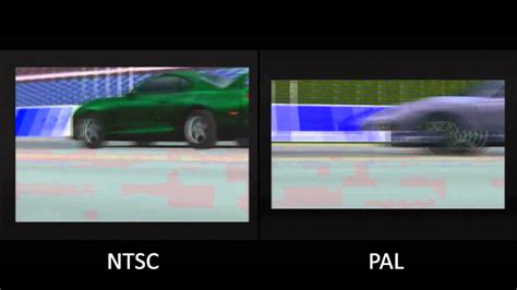 format video pal vs ntsc pal vs ntsc gran turismo psx youtube