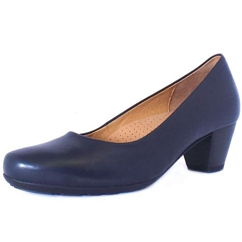 comfortable low heels gabor brambling formal comfortable low heel navy pumps