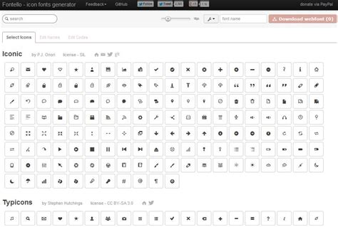 Bootstrap Themes Icons | best twitter bootstrap glyphicons alternatives