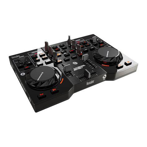 console dj usb hercules dj instinct table de mixage hercules