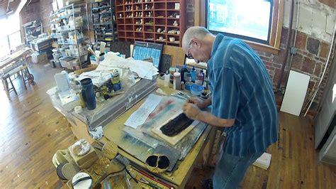 moku hanga japanese woodblock printmaking semi