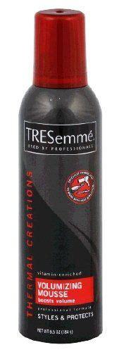 Harga Tresemme Thermal Creations Volumizing Mousse tresemme thermal creations volumizing mousse reviews