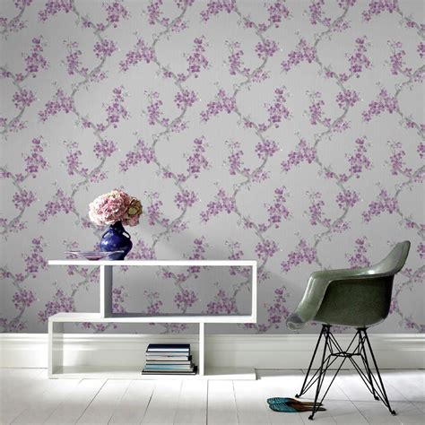 mercutio wallpaper plum grey graham brown mercutio plum and grey wallpaper 32 269