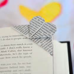 the cheese thief book page corner origami bookmark