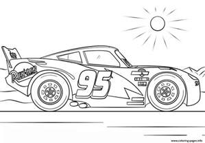 lightning mcqueen cars 4 disney coloring pages printable