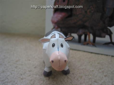 Cow Papercraft - harvest moon papercraft cow paperkraft net free