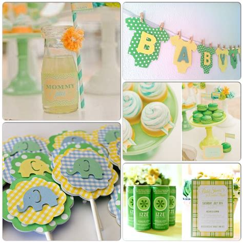 Neutral Baby Shower Themes by Oh Baby Shower Themes Avd Events Inc