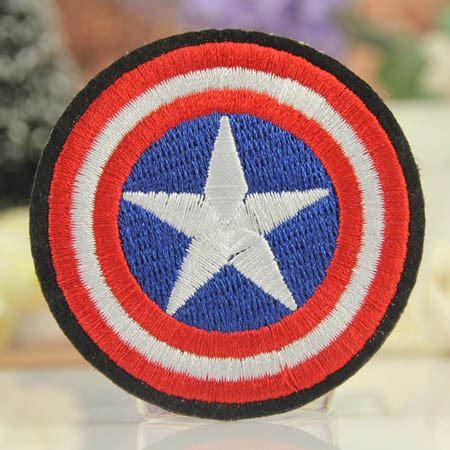 Patch Bordir Emblem Embroidery Patch Logo Bordir Bet2 Badge G45 the logo bordir besi di patch captain america perisai logo patch jaket patch anak