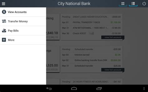 nearest city national bank city national bank of florida android apps on play
