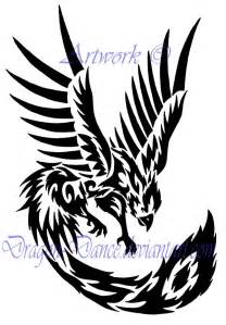 free download tribal phoenix tattoo dansudragon deviantart