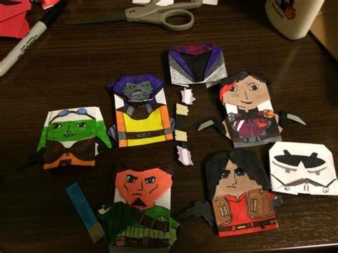 Wars Origami Characters - origamigrandmaser origami yoda