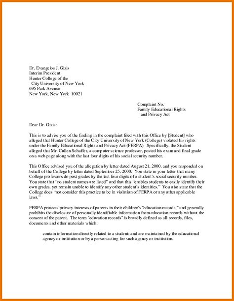 college application cover letter exles 12 application letter sle for college tech