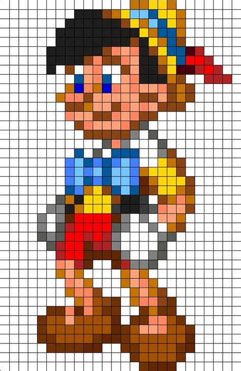 disney perler bead designs pinocchio disney perler bead pattern cross stitch