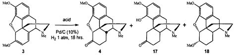 Hydrocodone Sysnthesis by Patent Ep2173754a1 Conversion Of Thebaine To Morphine