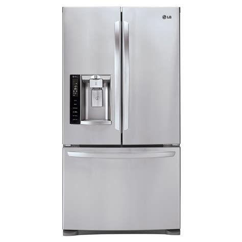 lg lfx28968st 26 8 cu ft door bottom freezer - Door Refrigerator Bottom Freezer