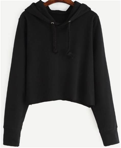 Sweater Crop Hoodie cropped hoodie shop for cropped hoodie on wheretoget