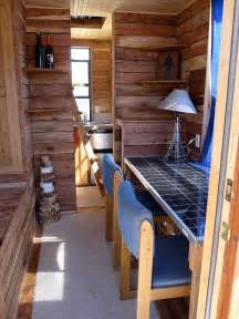 Tumbleweed Homes Interior Tiny House Powered By Solman Mobile Solar Generator
