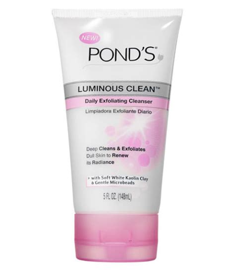Ponds Whitening Exfoliating Scrub how to get a glow bronzing products