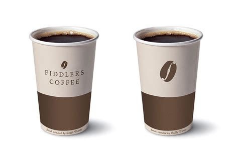 coffee cup design fiddlers coffee logo design 171 micah hansen