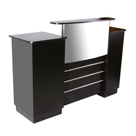 Office Counter Desk Deco Salon Furniture Inc Deco Mandy Reception Counter High Design Low Prices Ph 773 957 7005