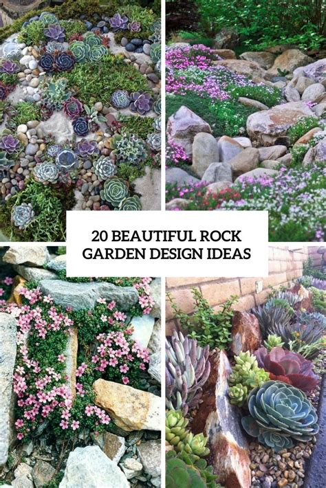 rock garden show best 25 rock garden design ideas on rocks