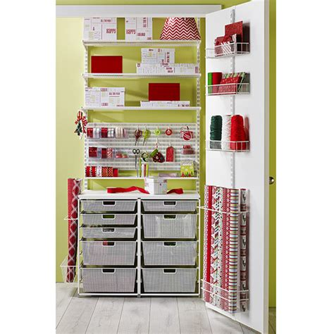 container store gift wrap set up a gift wrapping station a personal organizer