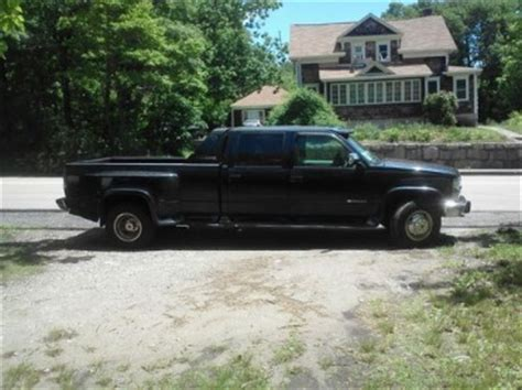 how cars work for dummies 1995 chevrolet 3500 electronic valve timing buy used 1995 chevy silverado k3500 4x4 dually in plainville massachusetts united states