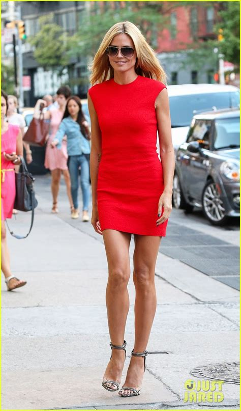 Whos Hotter Will Ferrell Or Heidi Klum by Sized Photo Of Heidi Klum Is In Soho Before