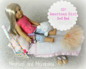 bed dolls diy american doll bed meatloaf and melodrama
