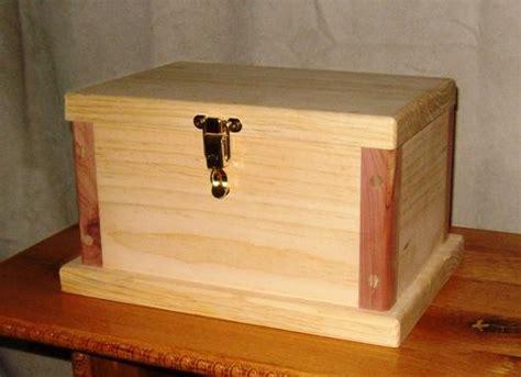 Wood Box Making Plans