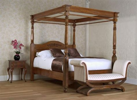4 post bed 18 gorgeous modern four poster bed designs