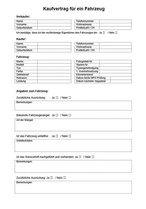 Kaufvertrag Auto Schweiz by Kaufvertrag Auto Vorlage Word Schweiz Muster Vorlage Ch