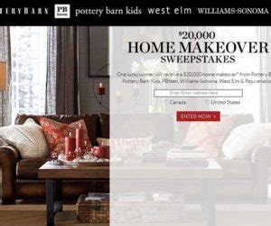 Potterybarn Sweepstakes - amppowerdash com amp energy powerdash app promotion sweepstakes directory
