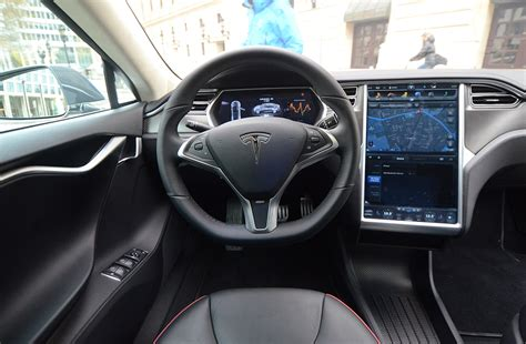 Tesla S Interior Images Test Tesla Model S Changer Diisign