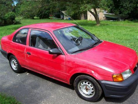 automotive air conditioning repair 1995 toyota tercel electronic throttle control sell used 1995 toyota tercel std sedan 2 door 1 5l in thornton pennsylvania united states