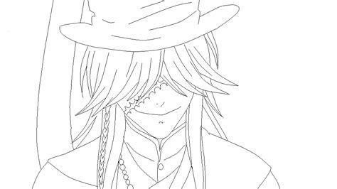 theme line black butler blackbutler undertaker lineart by mrsnnoitrajiruga on