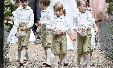 St Mark S Church Berkshire what prince george and princess charlotte wore to pippa