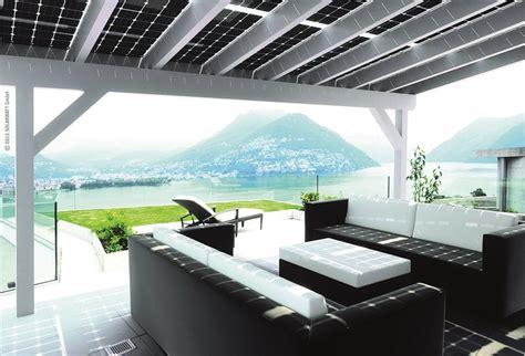 veranda fotovoltaica solarwatt fotovoltaico veranda system