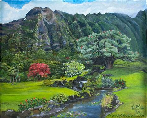 Landscaping Oahu 17 Best Images About Landscape Paintings On On