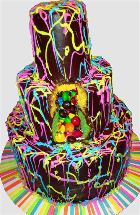 Blue And White Decorating Ideas jackson pollock pi 241 ata cake mom loves baking