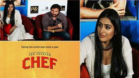 film india chef quot chef quot hindi movie starcast saif ali khan padmapriya