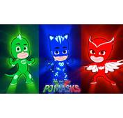 PJ Masks  Catboy And Owlette Gekko Coloring Pages Learn Colors