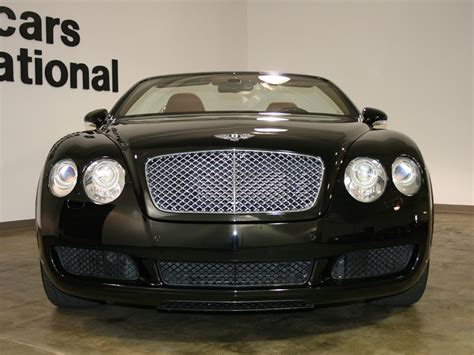 2007 bentley gtc 2007 bentley continental gtc