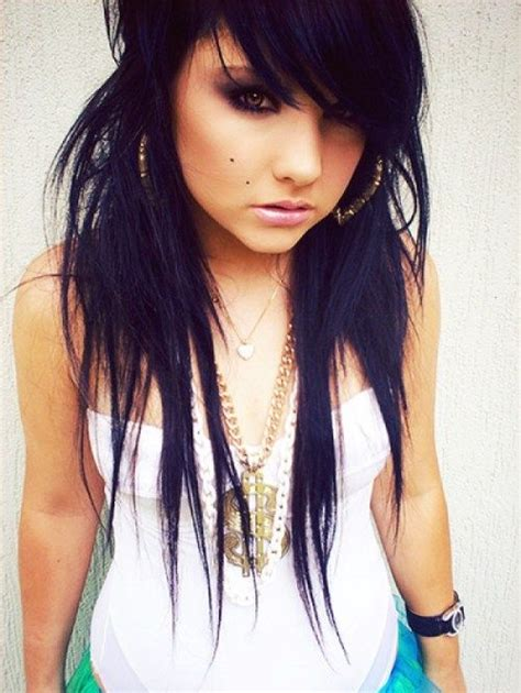 emo hairstyles tied up 1000 images about hair styles for me on pinterest long