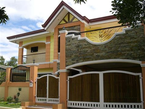 small house exterior designs modern exterior small house designs philippines trend home design and decor