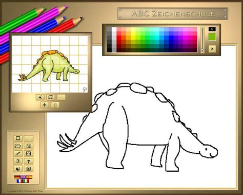 3d Copy And Draw Dinosaurs And sreenshot abc drawing school iii dinosaurs 1 11 0424