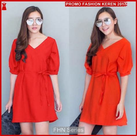Dress Merah Sw fnh199 dresses ala liliana sw dress merah crep